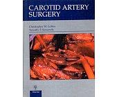 Szczegóły książki CAROTID ARTERY SURGERY