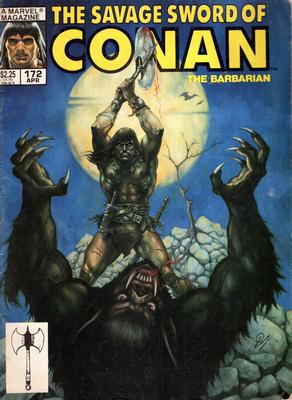 THE SAVAGE SWORD OF CONAN - THE BARBARIAN (NR 172)