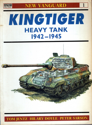 KINGTIGER HEAVY TANK 1942 - 1945