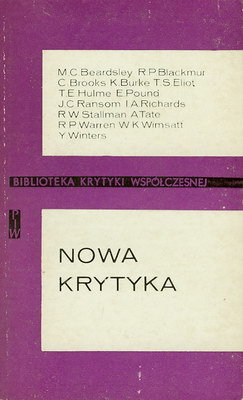 NOWA KRYTYKA - ANTOLOGIA