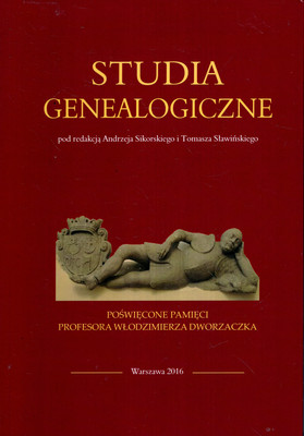 STUDIA GENEALOGICZNE