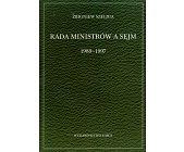 Szczegóły książki RADA MINISTRÓW A SEJM 1989 - 1997