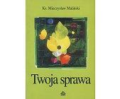 Szczegóły książki TWOJA SPRAWA