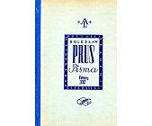 Szczegóły książki PISMA - EMANCYPANTKI - 4 TOMY