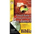 Szczegóły książki VISUAL BASIC 6. PROGRAMOWANIE BAZ DANYCH - BIBLIA