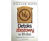 Szczegóły książki DETOKS ZBOŻOWY W 10 DNI