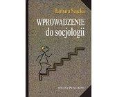 Szczegóły książki WPROWADZENIE DO SOCJOLOGII