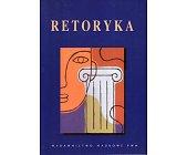 Szczegóły książki RETORYKA