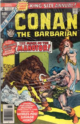 CONAN THE BARBARIAN - THE MARK OF THE MANOTOR!