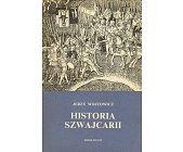 Szczegóły książki HISTORIA SZWAJCARII