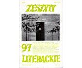 Szczegóły książki ZESZYTY LITERACKIE (97)