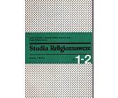 Szczegóły książki STUDIA RELIGIOZNAWCZE - TOM 1-2