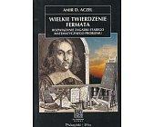 Szczegóły książki WIELKIE TWIERDZENIE FERMATA