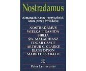 Szczegóły książki NOSTRADAMUS