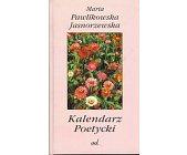 Szczegóły książki KALENDARZ POETYCKI