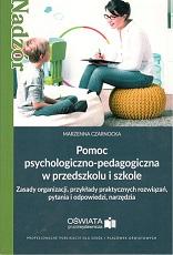 POMOC PSYCHOLOGICZNO-PEDAGOGICZNA W PRZEDSZKOLU I SZKOLE