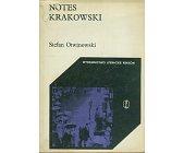 Szczegóły książki NOTES KRAKOWSKI