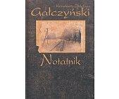 Szczegóły książki NOTATNIK