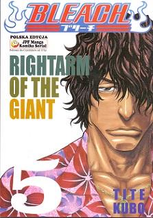 BLEACH - 5 - RIGHTARM OF THE GIANT