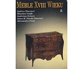 Szczegóły książki MEBLE XVIII WIEKU