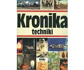 Szczegóły książki KRONIKA TECHNIKI