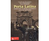 Szczegóły książki PORTA LATINA - 2 TOMY