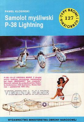 SAMOLOT MYŚLIWSKI P-38 LIGHTNING