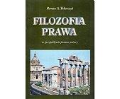 Szczegóły książki FILOZOFIA PRAWA W PERSPEKTYWIE PRAWA NATURY