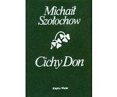 Szczegóły książki CICHY DON - 2 TOMY