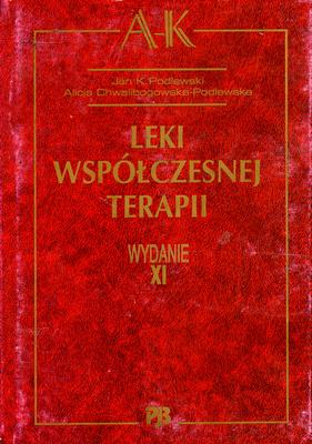 LEKI WSPÓŁCZESNEJ TERAPII - 3 TOMY