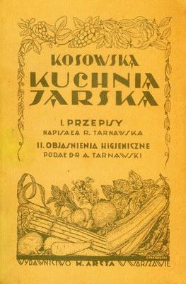 KOSOWSKA KUCHNIA JARSKA - REPRINT