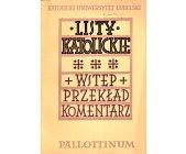 Szczegóły książki LISTY KATOLICKIE