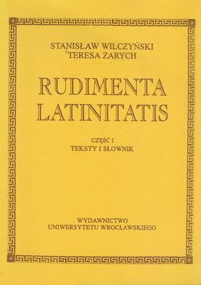 RUDIMENTA LATINITATIS - 2 TOMY