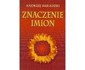 Szczegóły książki ZNACZENIE IMION