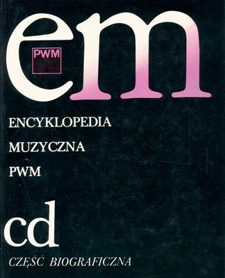 ENCYKLOPEDIA MUZYCZNA - TOM 2