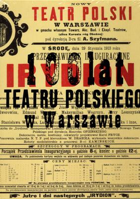 100 LAT TEATRU POLSKIEGO W WARSZAWIE