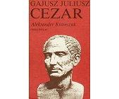Szczegóły książki GAJUSZ JULIUSZ CEZAR