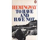 Szczegóły książki TO HAVE AND HAVE NOT
