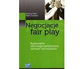 Szczegóły książki NEGOCJACJE FAIR PLAY