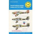 Szczegóły książki SAMOLOT BOMBOWY NURKUJĄCY JUNKERS JU 87 A-C STUKA