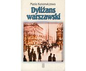 Szczegóły książki DYLIŻANS WARSZAWSKI