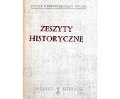 Szczegóły książki ZESZYTY HISTORYCZNE - ZESZYT 72