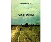Szczegóły książki LIST DO ROSJAN