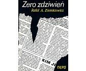 Szczegóły książki ZERO ZDZIWIEŃ