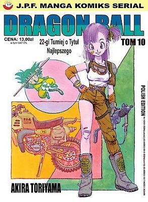 DRAGON BALL - TOM 10 - 22-GI TURNIEJ O TYTUŁ NAJLEPSZEGO