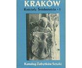 Szczegóły książki KATALOG ZABYTKÓW SZTUKI W POLSCE - KRAKÓW - KOŚCIOŁY ŚRÓDMIEŚCIA - 3 TOMY