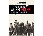 Szczegóły książki WIELKIE MOCARSTWA WOBEC POLSKI 1919-1945