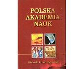 Szczegóły książki POLSKA AKADEMIA NAUK