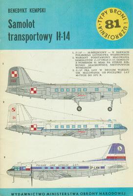 SAMOLOT TRANSPORTOWY IŁ-14 (81)