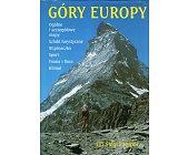 Szczegóły książki GÓRY EUROPY